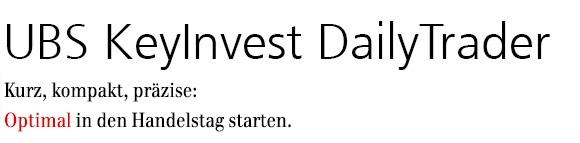 UBS KeyInvest DailyTrader